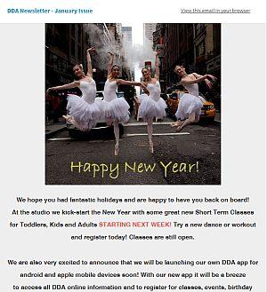 Newsletters | Darlene's Dance